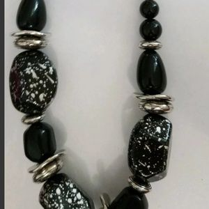 Blockbuster chunky black marbled set